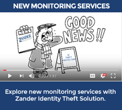 Zander ID Theft Protection YouTube Video